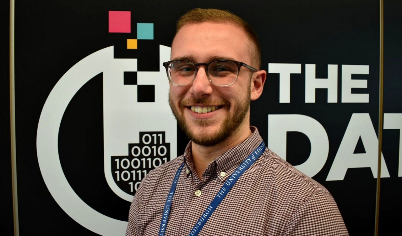 Cameron Gordon, business development executive with The Data Lab