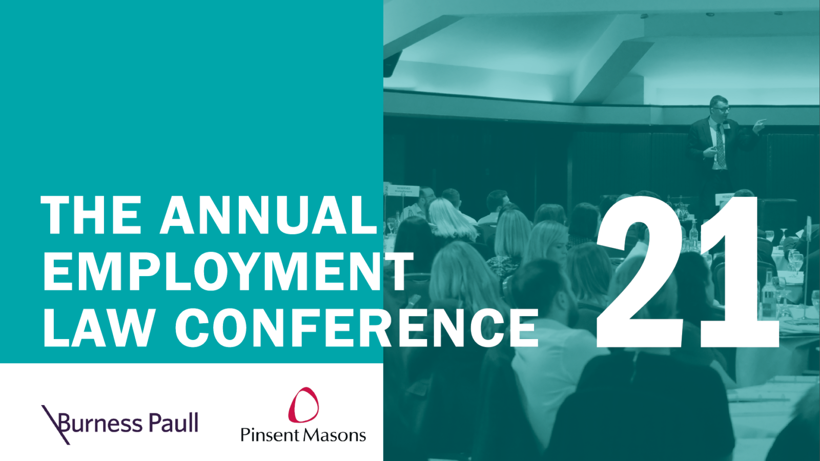 Annual Employment Law Conference 2021: The must-attend annual event in partnership with Burness Paull LLP and Pinsent Masons LLP