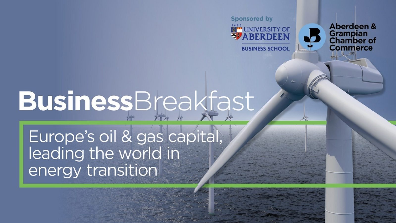 Europe's oil and gas capital, leading the world in energy transition: Join us for the Chamber's latest Business Breakfast