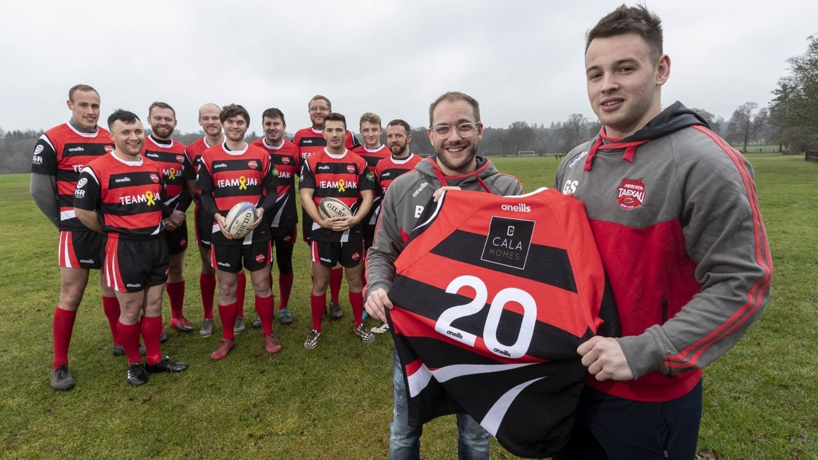 Aberdeen Taexali Rugby Club, who were awarded CALA Community Bursary funding back in 2019