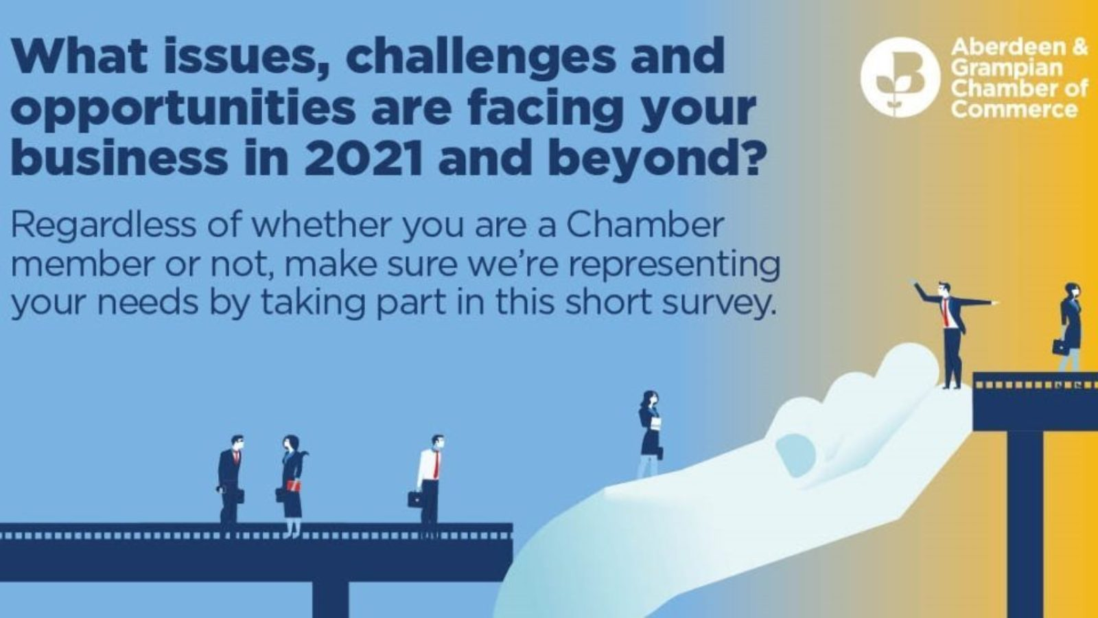 Aberdeen and Aberdeenshire Business in 2021 and Beyond: Chamber launches survey to understand post-pandemic plans