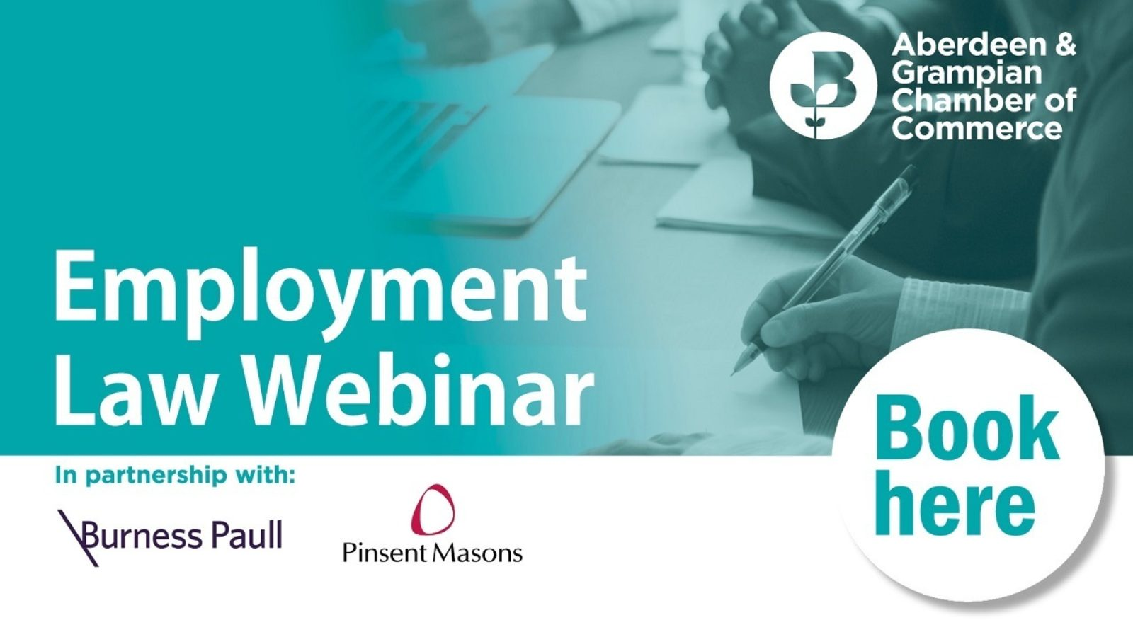Scotland's leading employment law advisers Burness Paull LLP and Pinsent Masons LLP combine their resources to deliver a must-attend webinar