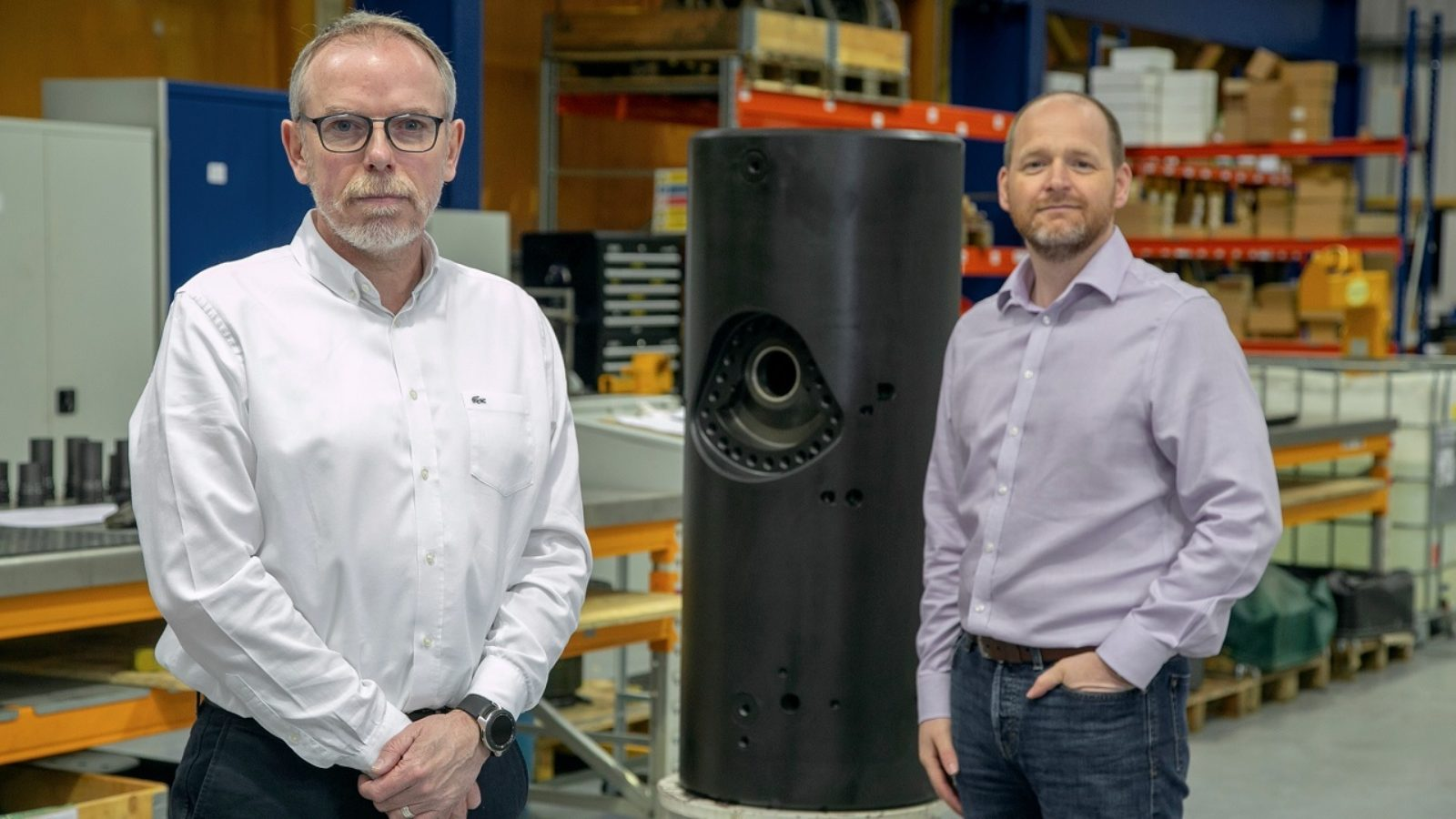 Gavin Cowie, managing director (L) and John Sangster, technical director (R) at Interventek