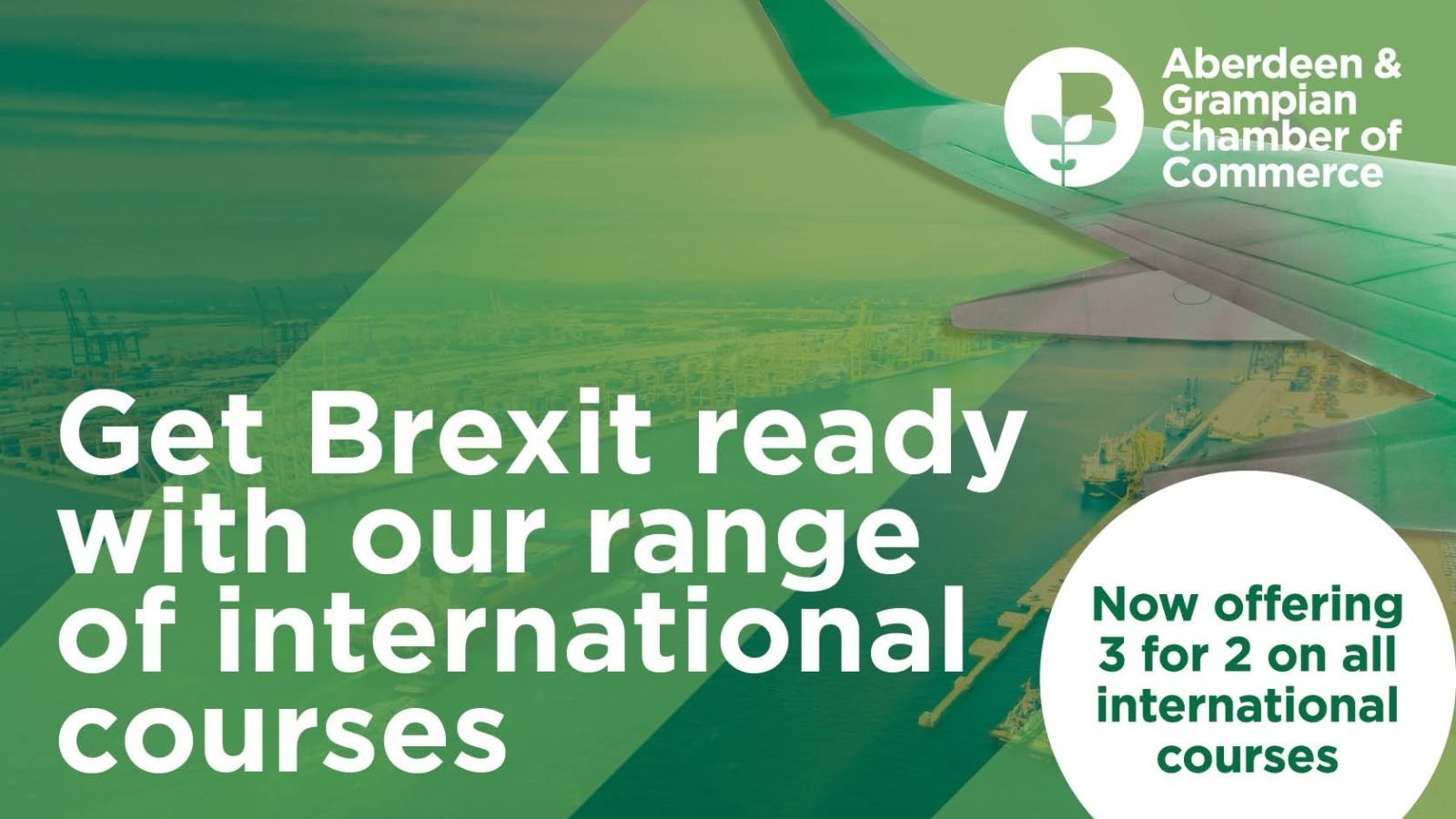 Custom Grant Schemes: Funding is available to cover 100% of your training costs to get Brexit ready