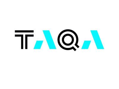 TAQA logo white background