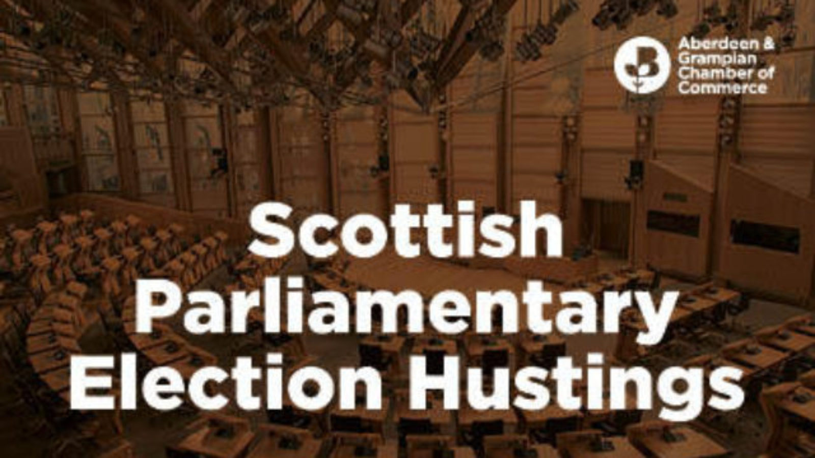 Chamber to host Scottish parliamentary election hustings