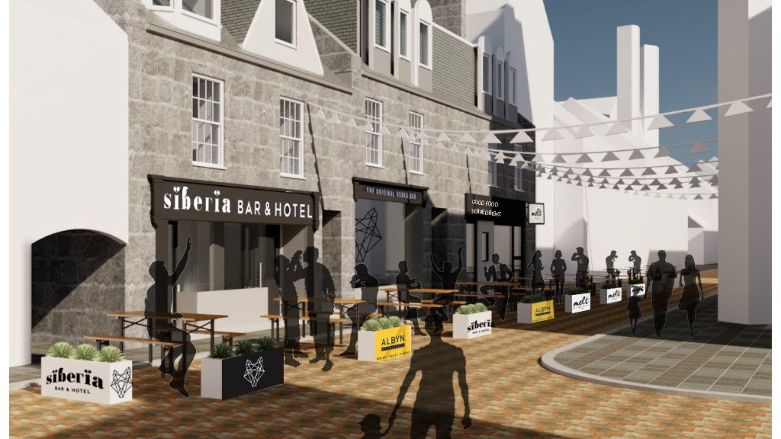 Belmont Street re-imagined