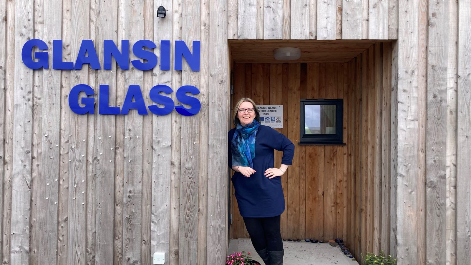 Business Gateway ensures artists' glass is full as bespoke studio and visitor centre opens to high demand