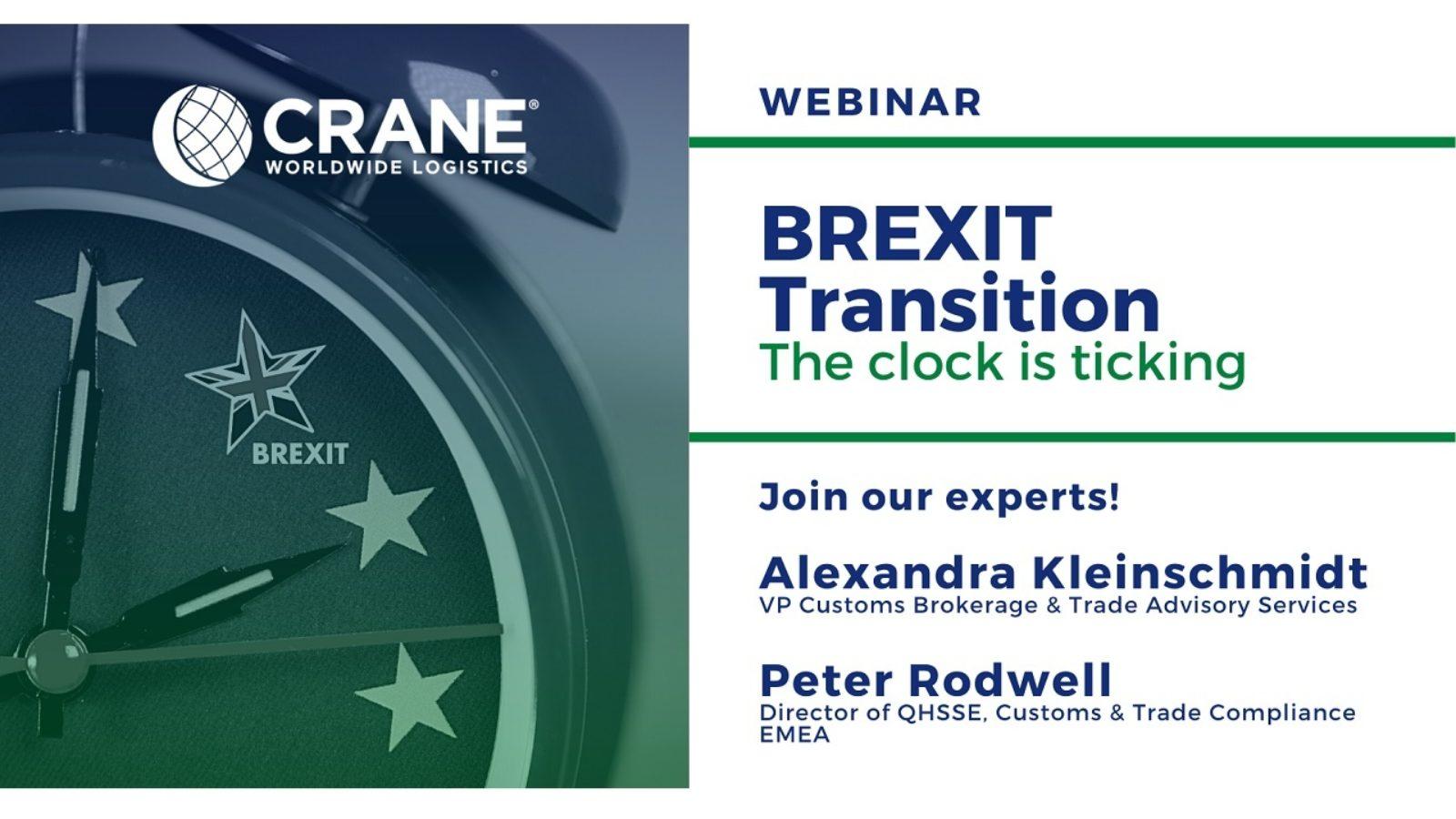 Crane Worldwide Logistics host Brexit webinar