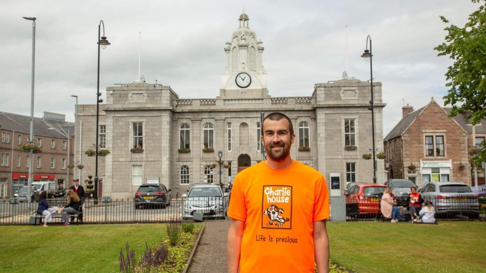 Aberdeen creative agency undertakes 24-hour runathon for children's charity