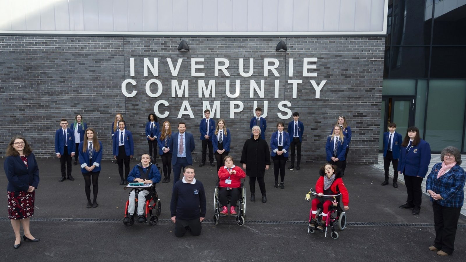 Inverurie Community Campus opens to Academy pupils