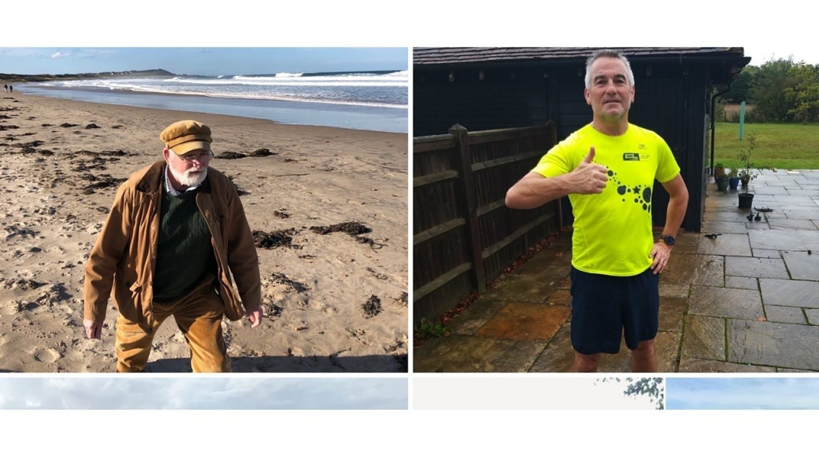 Team MDT use their two feet and a fishing rod to raise hundreds for charity