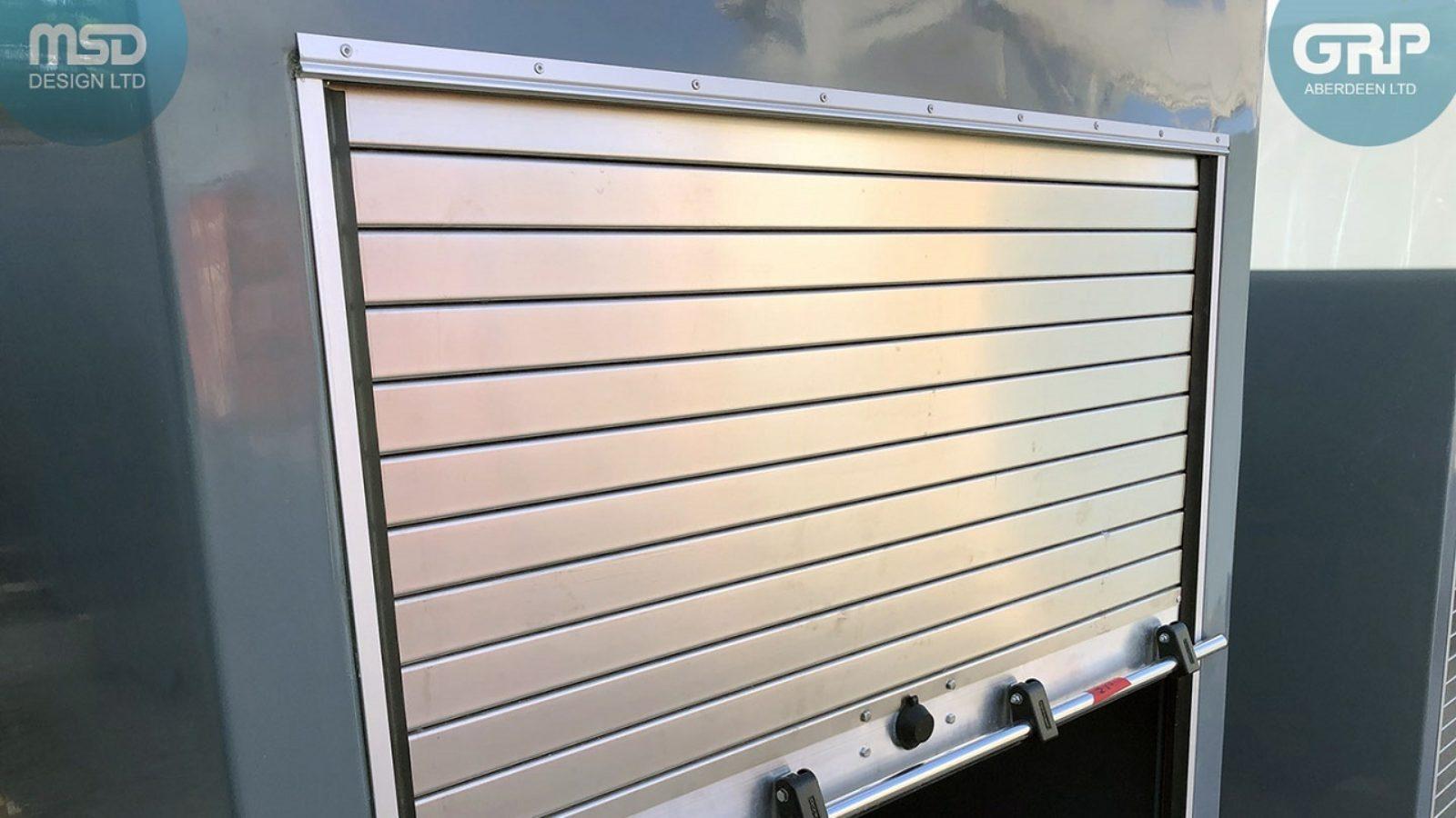 MSD Design Ltd. & GRP Aberdeen Ltd. - IP55 rated roller shutter cabinets