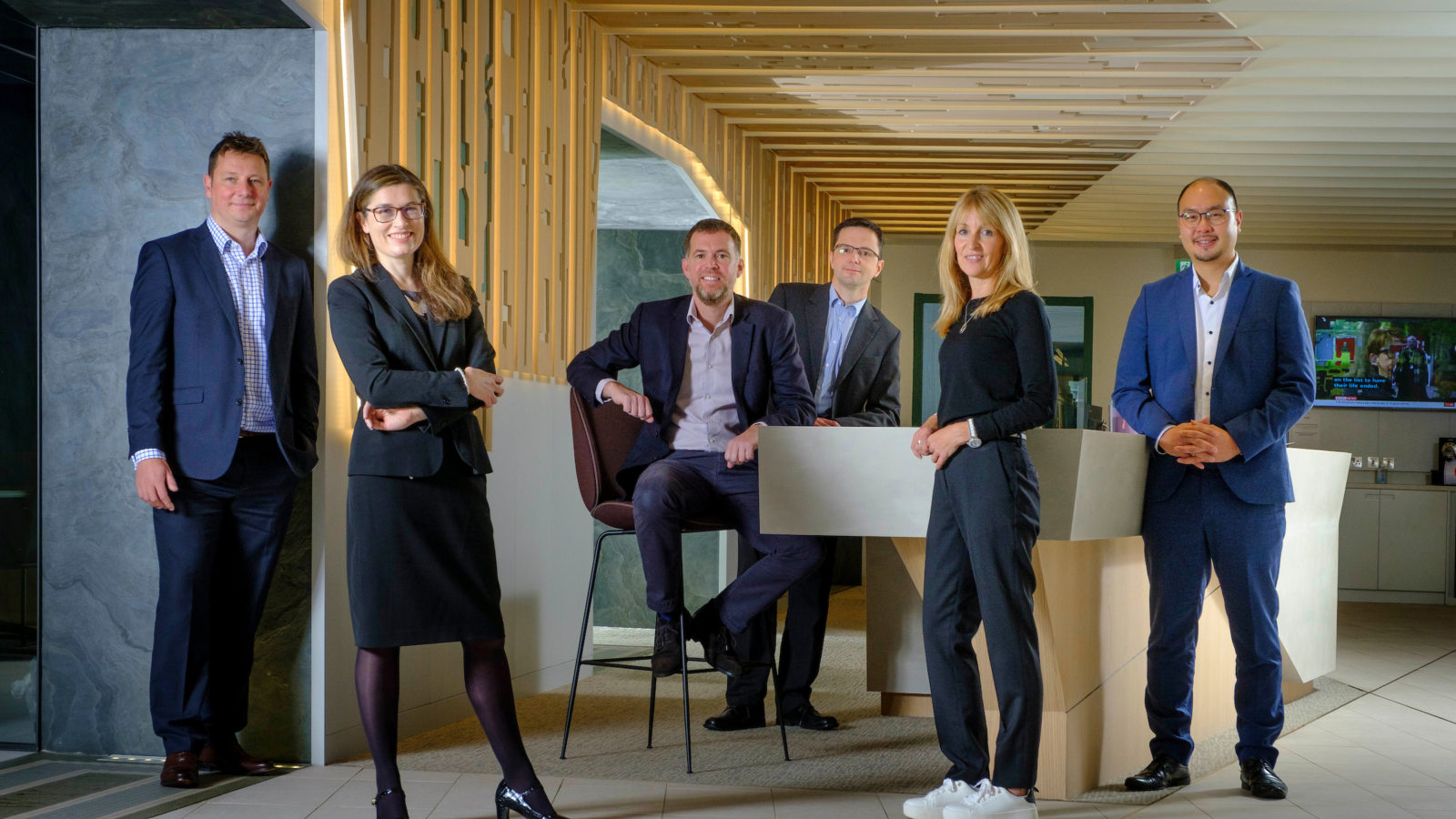 New KPMG directors from left to right James Lucas Catriona Donald Steven Lindsay Gordon Gray Susan Thom Harvard Lee
