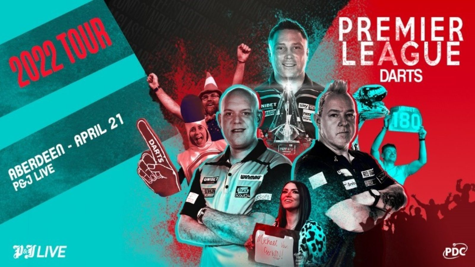 Premier League darts to return to Aberdeen on April 21 2022