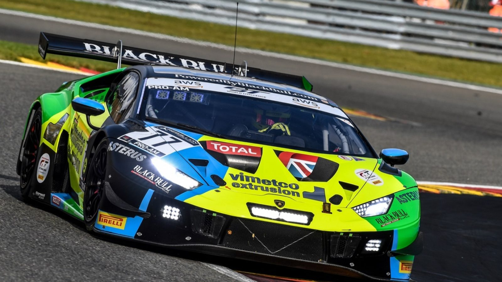 Scots endurance racer Sandy Mitchell claims back-to-back Spa 24-hours wins with Black Bull, Barwell and Lamborghini
