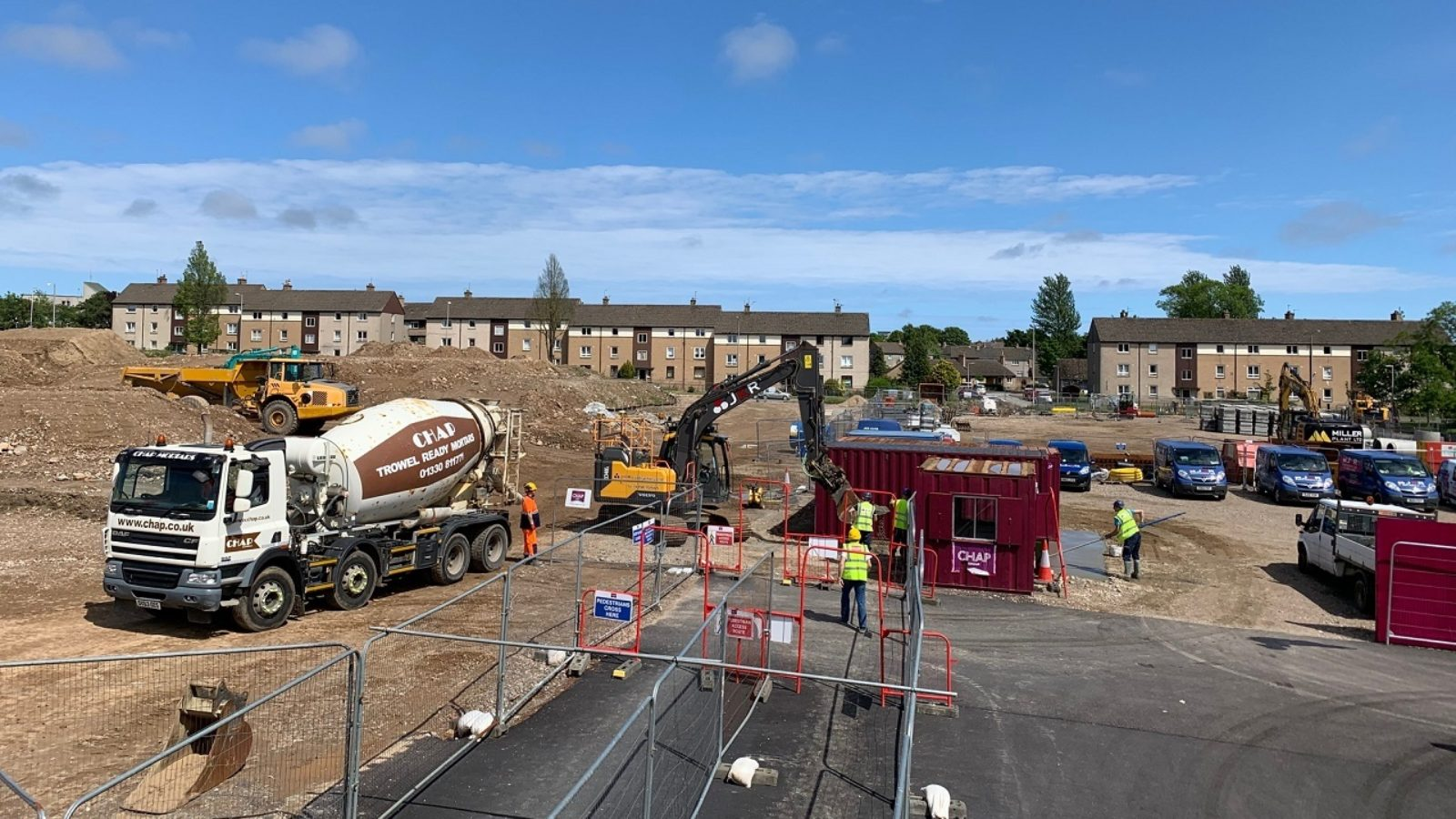 Work resumes on city's council house building programme