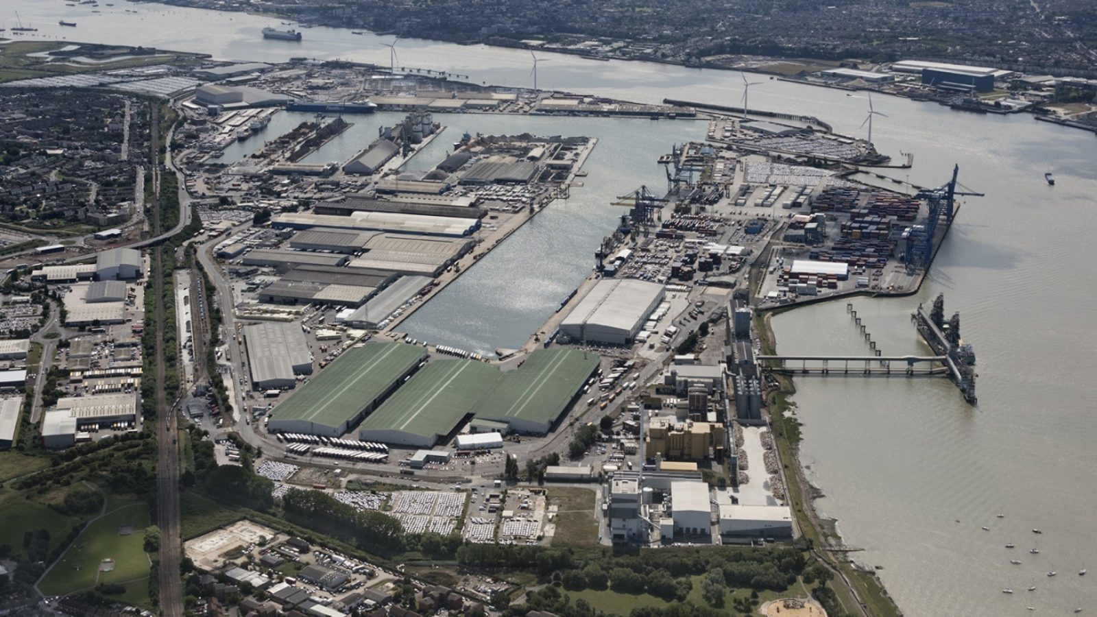 Wilson James expands its Construction Consolidation Centre into the Port of Tilbury
