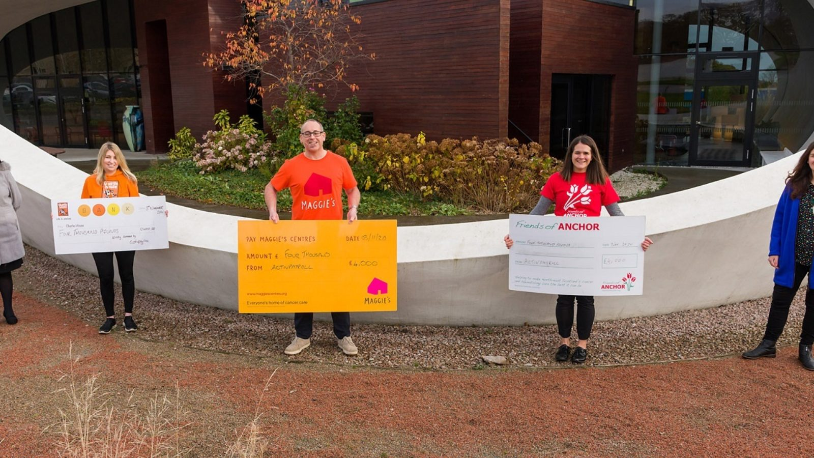 activpayroll donates annual social budget to local charities