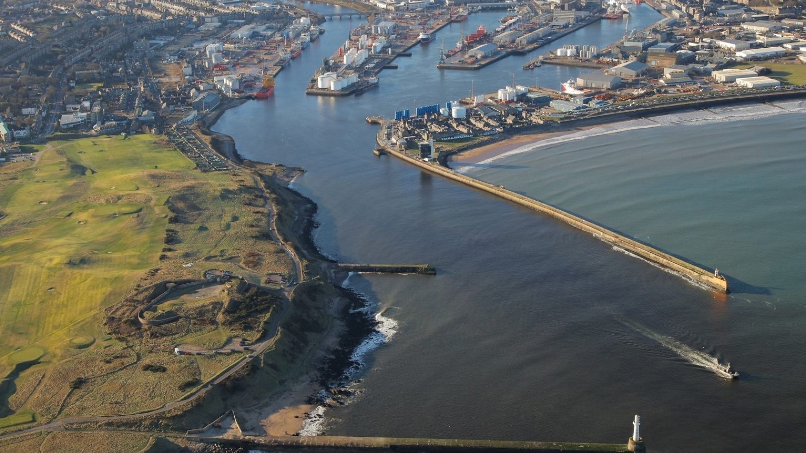 supPORT all Aberdeen Harbour - Thomas Telford in detail
