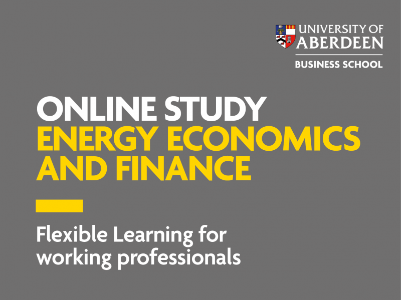 University of Aberdeen- Energy Economics and Finance course