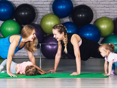 The importance of exercise as a parent & how to do more of it