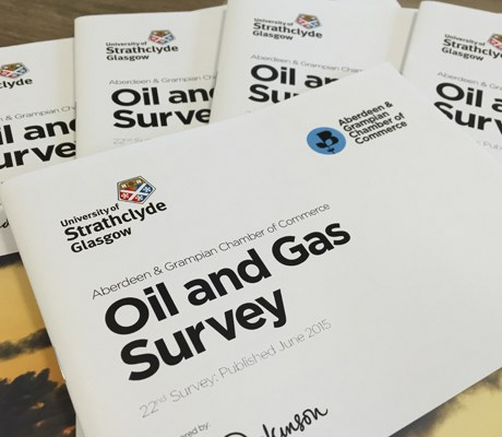 The Chamber's oil & gas survey monitors trends in the industry twice a year