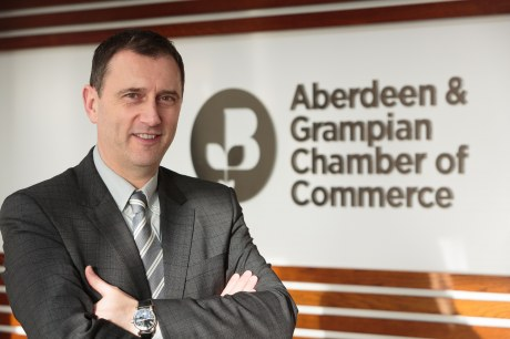 Russell Borthwick, Aberdeen & Grampian Chamber of Commerce chief executive