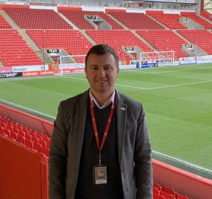 Steven Sweeney, community operations manager, Aberdeen FC Community Trust