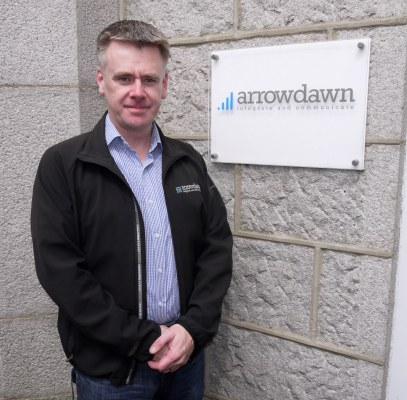 Gordon Adie, managing director at Arrowdawn