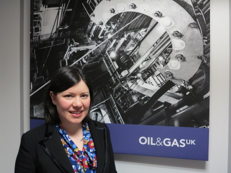 Karis Thain, membership relations manager, Oil & Gas UK