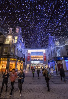 Something to say? & Bon Accord lights up city centre with ceiling of light
