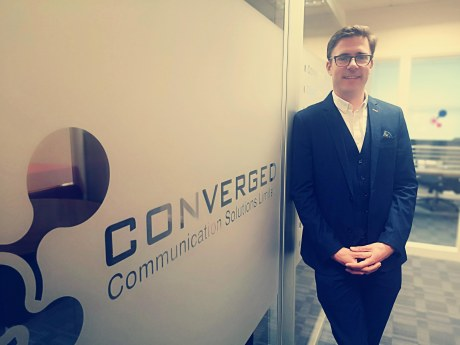Gerry Grant, chief security officer of Converged Communication Solutions