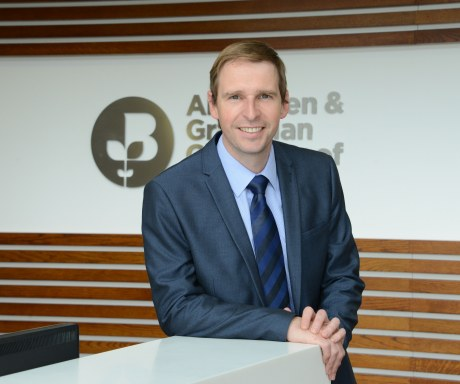 James Bream, research and policy director at Aberdeen & Grampian Chamber of Commerce