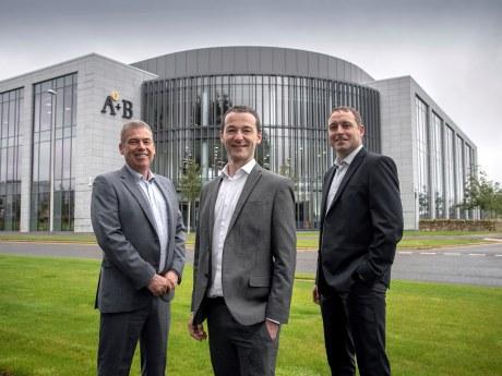Derek Mitchell, Robbie Gordon and Chris Masson.