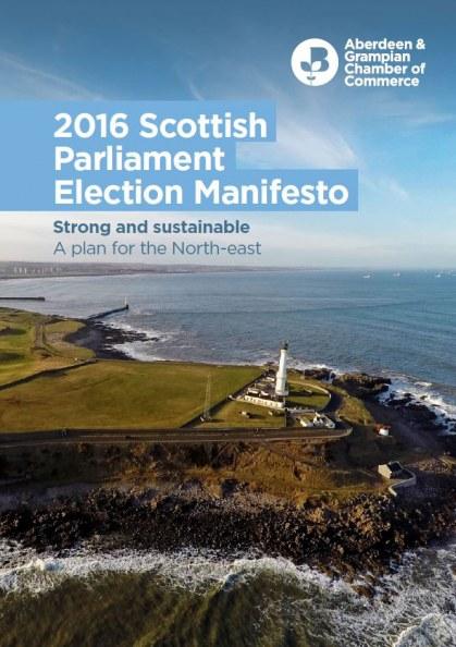 AGCC 2016 Scottish Elections Manifesto
