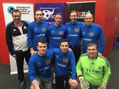 Business Fives enjoys thrilling debut in Aberdeen