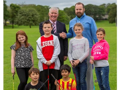Launch of youth golfing initiative
