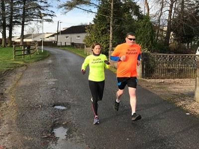 Blind runner takes on the Dandara 5K for charity